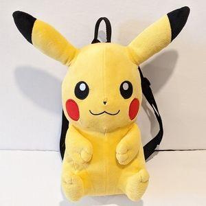 Pokemon Pikachu plush Backpack **IMPERFECT***
